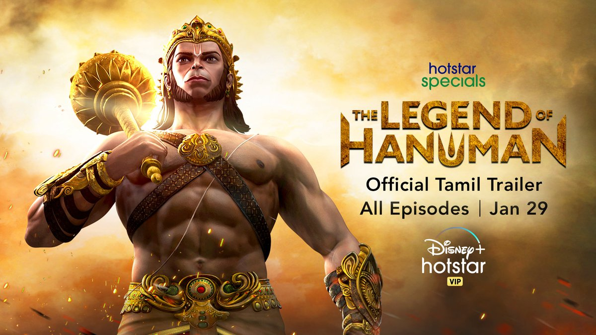 We all know Lord Hanuman is super strong, extremely loyal and full of wisdom - but how did he become so mighty and powerful? See him transform from a warrior to the God we all love and adore. Hotstar Specials presents The Legend of Hanuman, all episodes out on Jan 29.