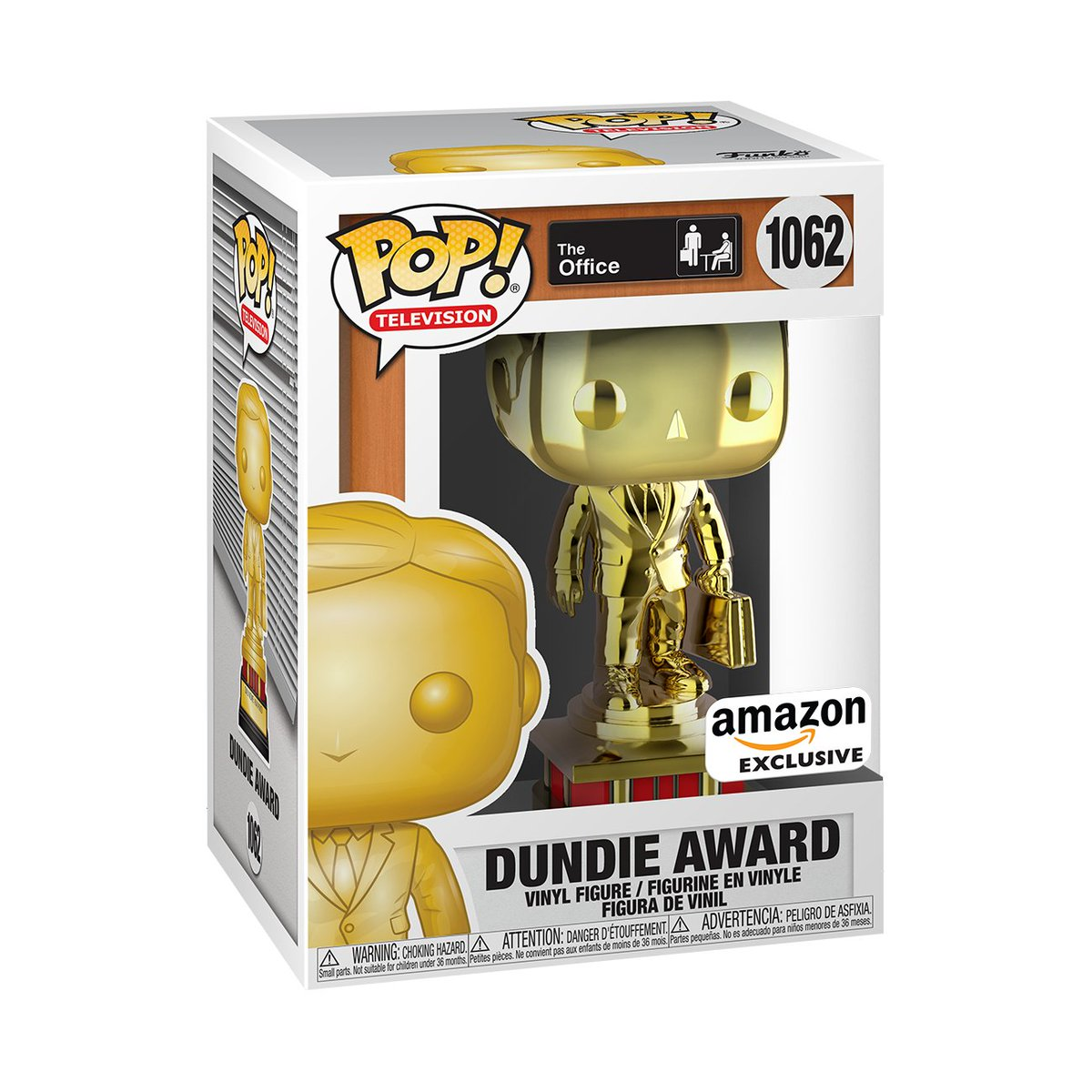 RT & follow @OriginalFunko for the chance to WIN this @amazon exclusive Dundie Award Pop!  #Funko #FunkoPop #FunkoGiveaway #giveaway #Theoffice