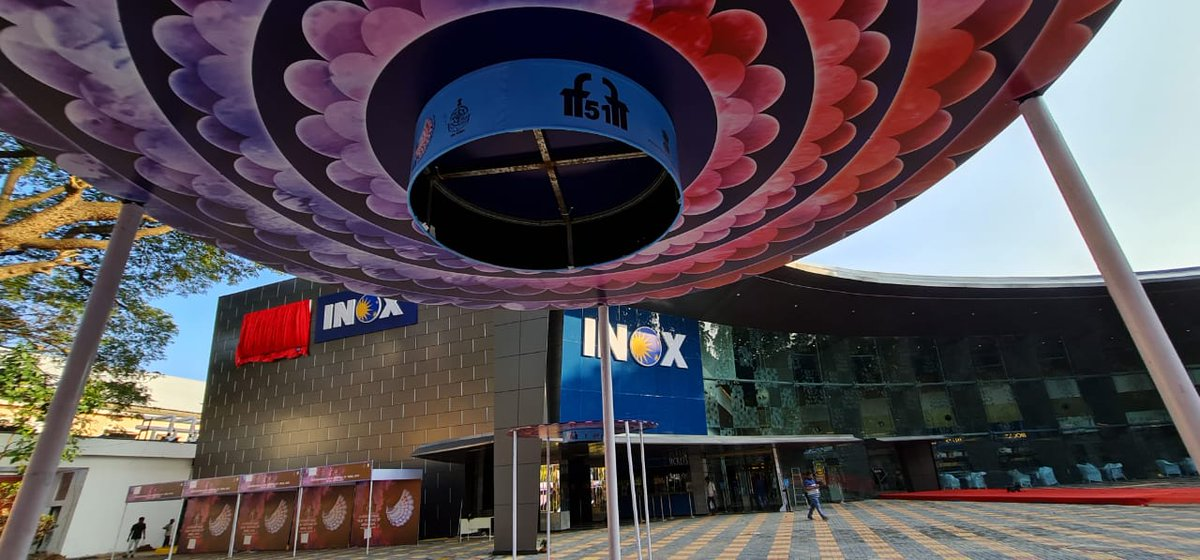 #Exclusive: The first look of renovated INOX Multiplex at #Panaji that would be formally opened on Monday (Today). @esg_goa