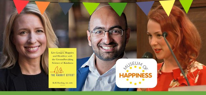 When we're kinder to ourselves and each other, we can improve our lives and transform our world 🙏🌎  Join us on #WorldKindnessDay with special guests @HardingKelli and @MuseumHappiness to find out how celebratekindness...  via