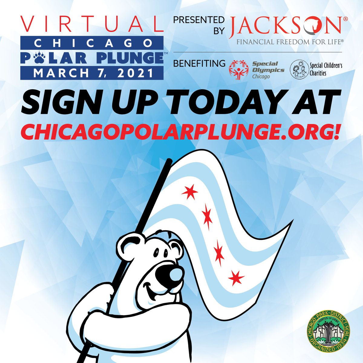 Are you looking for a great virtual team building exercise for your staff, club, or team? Sign up for the Virtual Chicago Polar Plunge presented by Jackson! It's a great challenge, a lot of fun, and help support 7,500 Special Olympics Chicago athletes! https://t.co/8nbSjau7zs https://t.co/4JZqX2uiYI