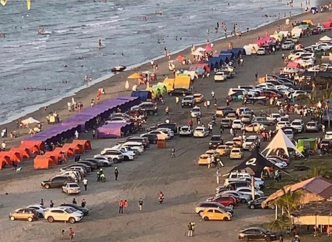#Cartagena no hay #COVID19 que irresponsabilidad! #soscartagena