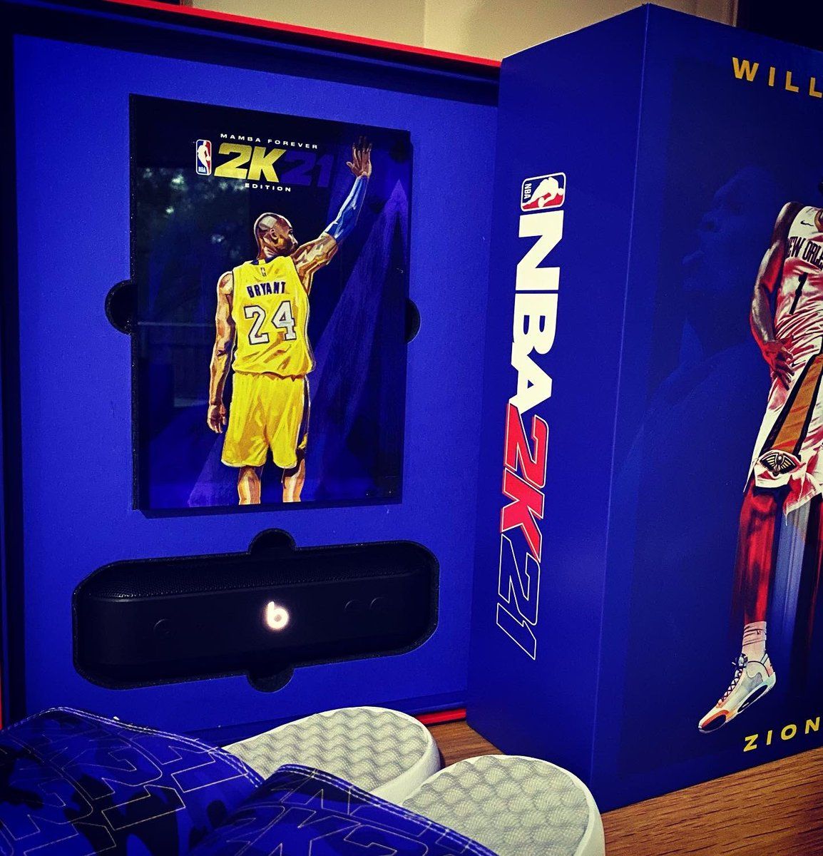 KILLZAMOI - so @NBA2K have really been sending me some heat these holidays, including this #PS5  i have a giveaway for some next gen game codes coming soon 🔥 in the meantime if you wanna buy the game be sure to use my link ⬇️  🔗