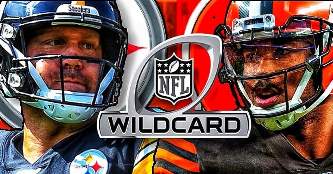 The Cleveland Browns & Pittsburgh Steelers meet in NFL Playoffs action from Heinz Field at 8:15PM(et). Cleveland enters this AFC Wild Card Game  after an 11-5 season. Pittsburgh started out the year at 11-0, but the wheels have come off since then, hitting a 3-game losing streak.