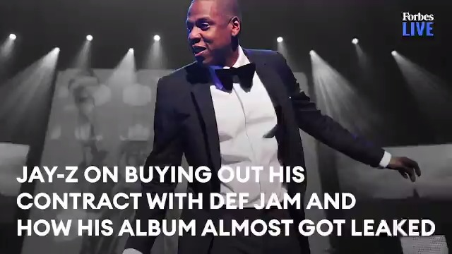 RT @Forbes: Jay-Z on buying out his contract with Def Jam and how his album almost got leaked https://t.co/S789X5vXVr