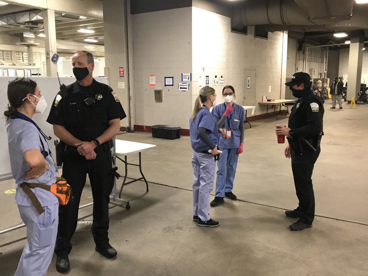Colorado Rangers in the front lines supporting healthcare staff's  test/vaccination efforts during the pandemic.   #OnlyStateWideSharedPoliceReserveInUSA #POST_Certified #ColoradoRangers #PoliceReserve #LawEnforcement #PoliceTraining #PoliceAcademy #ToProtectAndToServe #COVID_19