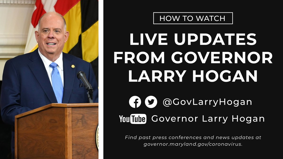 Governor Larry Hogan on Twitter: