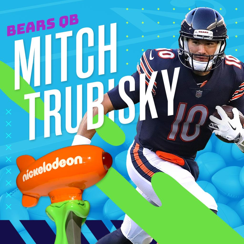 Replying to @Nickelodeon: And the NVP is…@Mtrubisky10 of the @ChicagoBears! Congrats 🏆