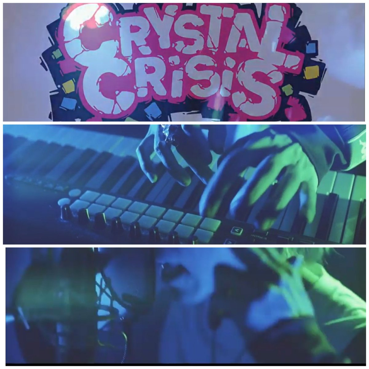 Pikii様のパズルゲーム「CRYSTAL CRiSiS」 BGM&主題歌の制作担当してます😉 よろしくお願いします🎹🎼🎮  #うみくん #Crystalcrisis #Nintendo #Switch #Game #Soundtrack #Toshihiro