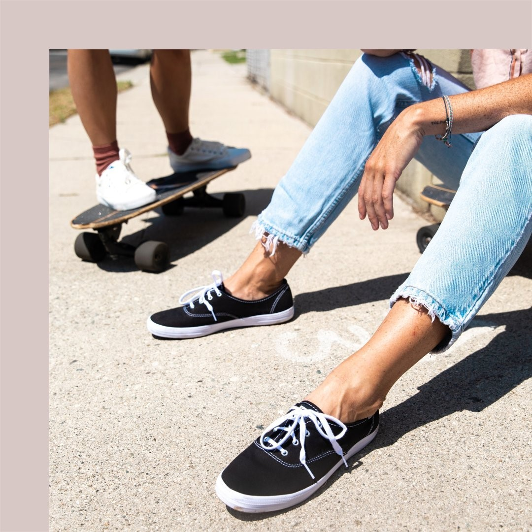 Good shoes, good people, good vibes. Tag the friends who always brighten your day. #Kedsstyle  Shop a pair at Keds stores, online at , or through the Keds Ph Viber community, and our personal shoppers will assist you! Join here: