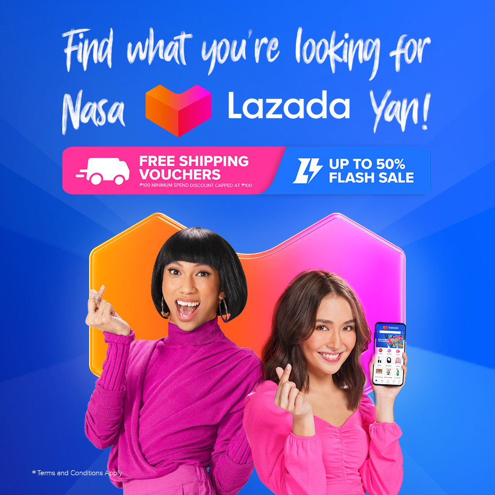 Find what you're looking for, #NasaLazadaYan! Add to cart and shop now on your #LazadaPH app.  #KathrynNasaLazadaYan #MimiyuuuhNasaLazadaYan