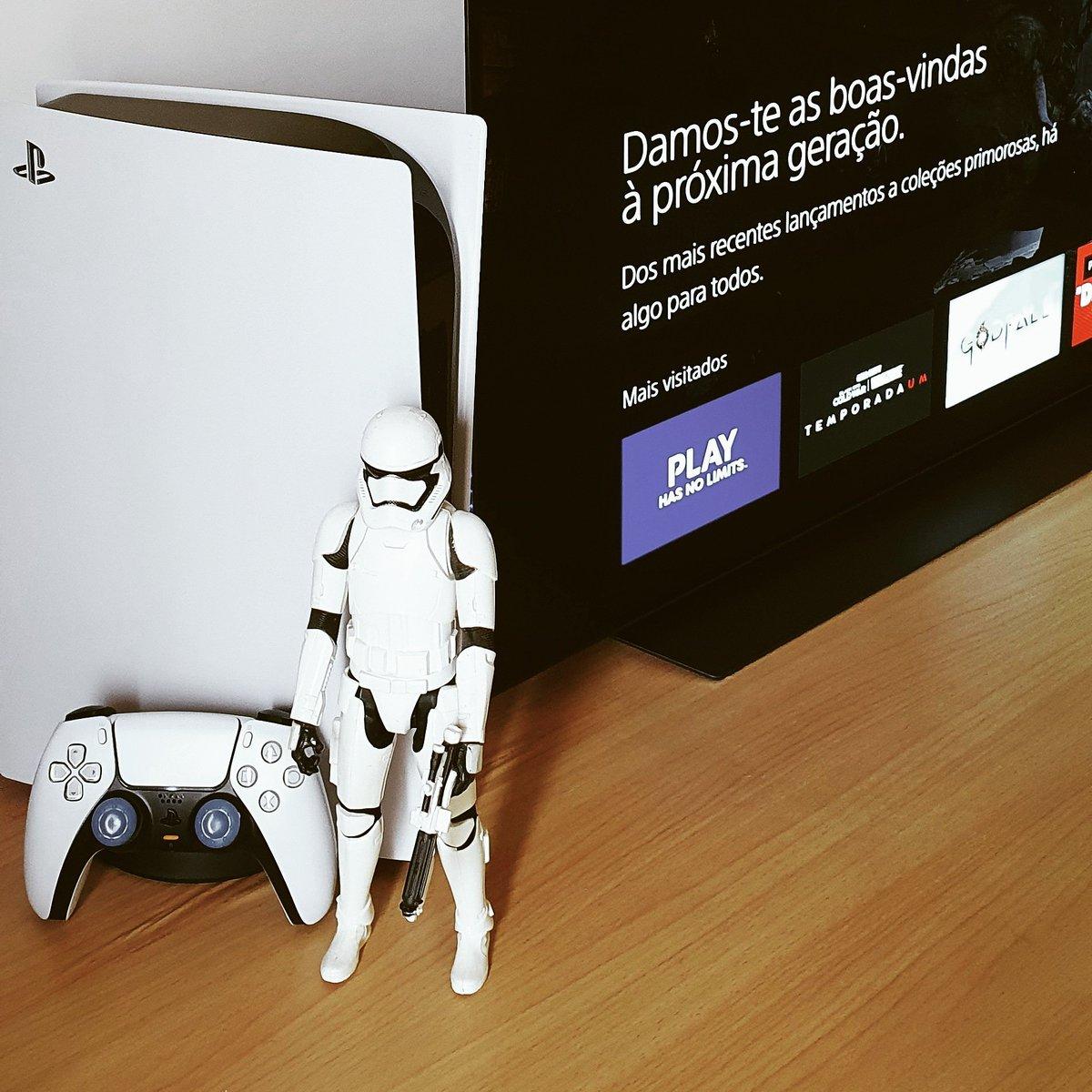 PS5 a.k.a STORMTROOPER #PS5 #StarWars #Mandalorian #lgoledtv