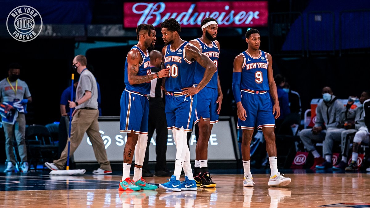 "NEW YORK KNICKS on Twitter: """"We got into it together, we have to get out  of it together."" — Coach Thibodeau. Let's keep digging.… """