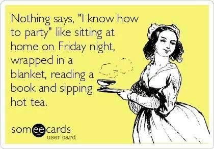 """Nothing says """"I don't give a damn about parties"""" than posting a status on #SocialMedia sharing these #FridayNight activities of yrs 😄  As #Writers, we chronicle reality...and we revel in our geekiness!  #amwriting #writing #writerslife #WritingLife #writerlife #WritingCommunity https://t.co/bSDEjRIub0"""