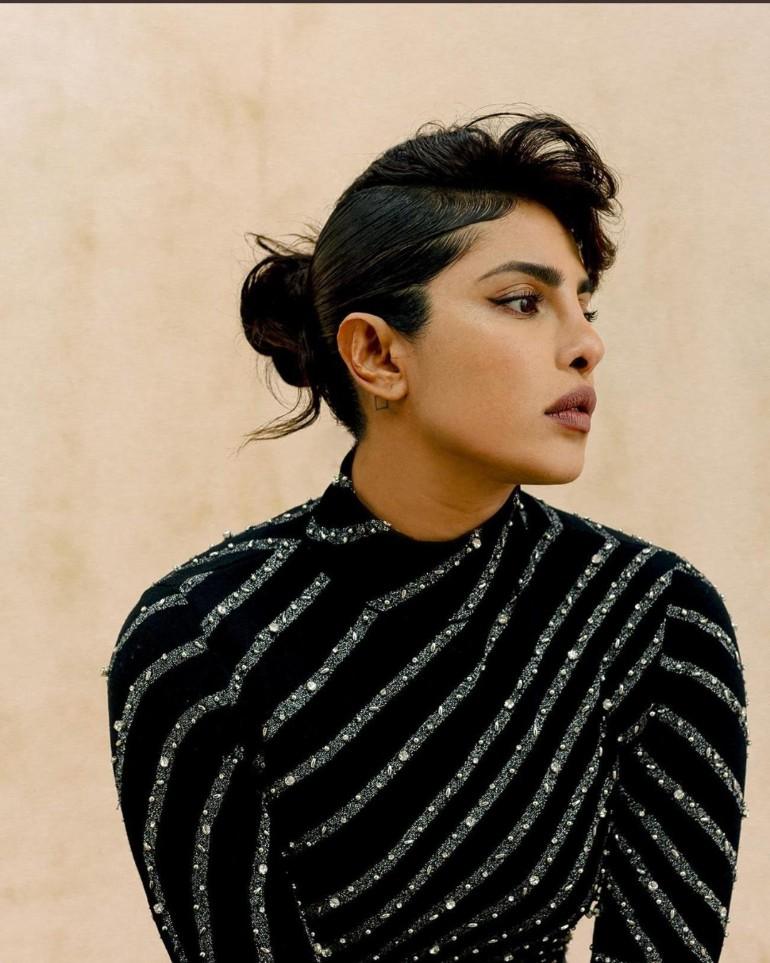 Priyanka Chopra looks stunning in this photo shoot ..  @TheSTStyle Photographer @c__ebenezer  Styling #MollyHaylor Hair #IssacPoleon Make-up @NinniNummela Nails @nailsbyMH