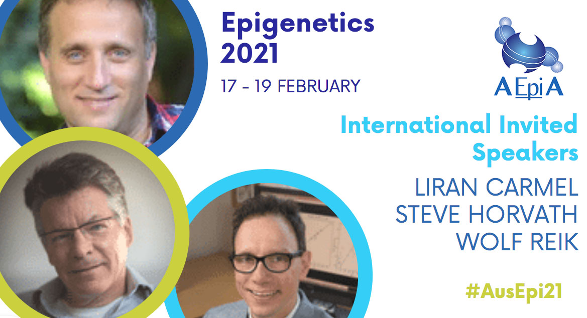 Epigenetics 2021 is going to be fantastic (if we do say so ourselves ☺️)!!  #AusEpi21 highlights will include keynotes Liran Carmel, Steve Horvath & Wolf Reik.  Register now - still accepting poster abstracts!     #Epigenetics