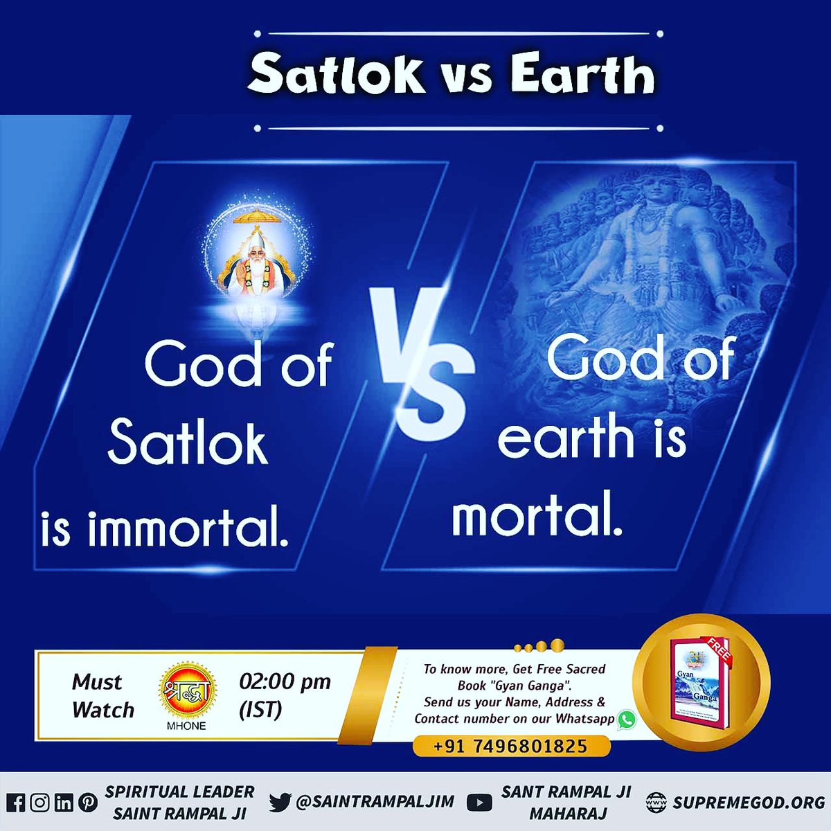 @SaintRampalJiM Every Creature On Earth Is Sad. Satlok is the ocean of happiness. There is no such thing as sorrow. Birth is not death. Not old age.  @SaintRampalJiM For More Information Visit Satlok Ashram YouTube Channel #thursdaymorning #GodMorningThrusday