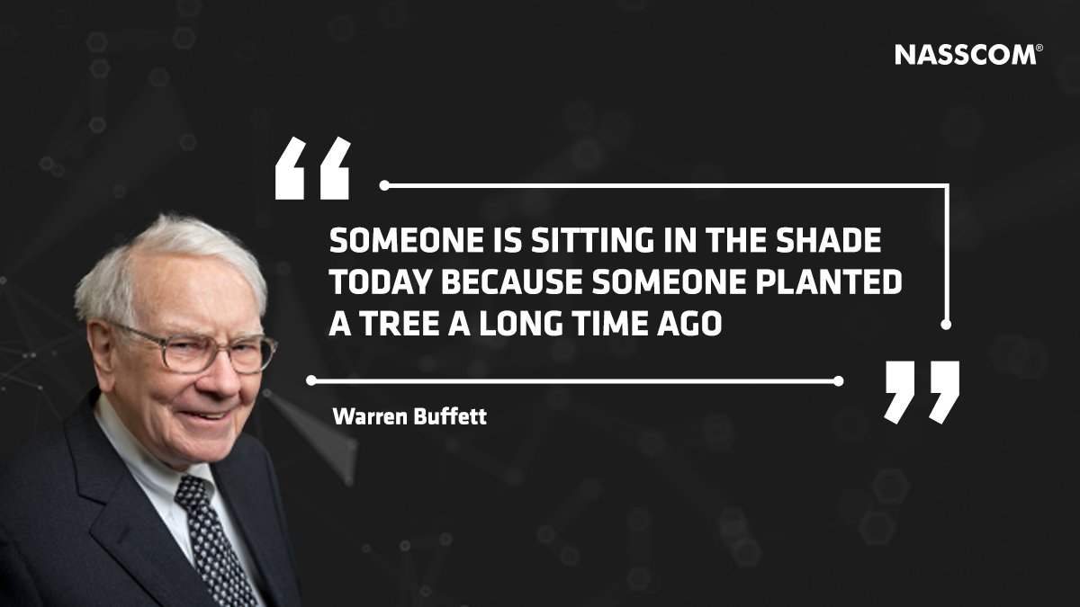 A focus on long term planning can bring about a deep impact on mankind. #MondayMotivation