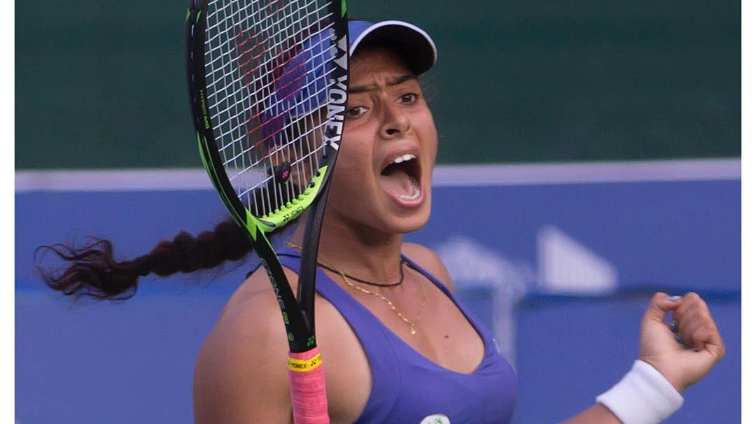 Happy birthday @ankita_champ 🎉   #tennis #indiatennis #aitatennis #indiansports