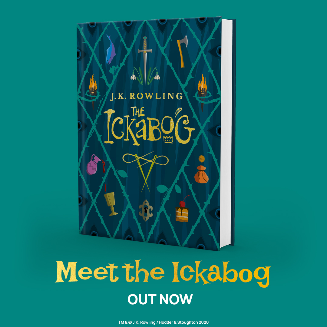 From J.K. Rowling comes an original fairy tale adventure to entertain the whole family.  Meet #TheIckabog now: