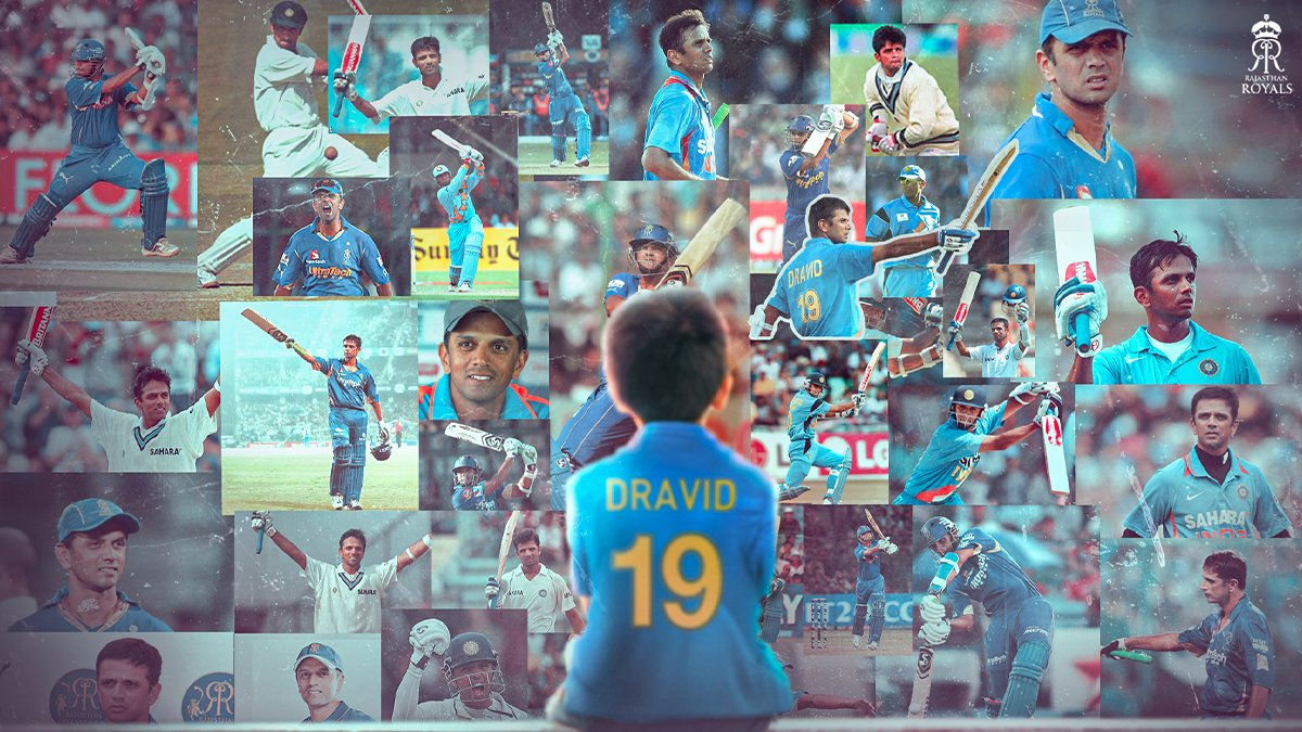#HappyBirthdaylegend When life give you bouncer handle it like #RahulDravid. This is what I learned from legend.   #Rahuldravidbirthday  Wishing you a very happy birthday wall of Indian Cricket.  Wish you healthy life❤🤞 #HappyBirthdayRahulDravid