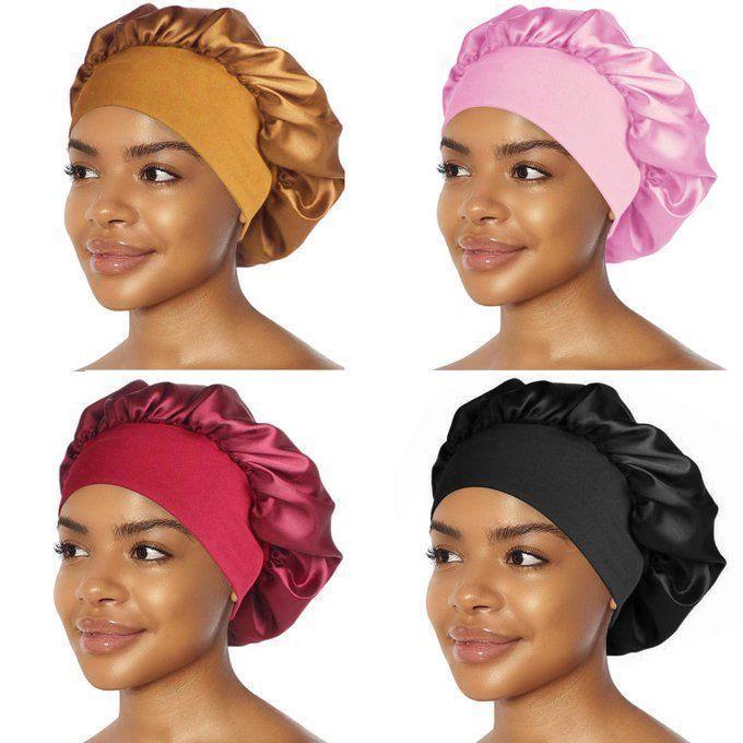 Grab 4 Satin Bonnets for $12.99!