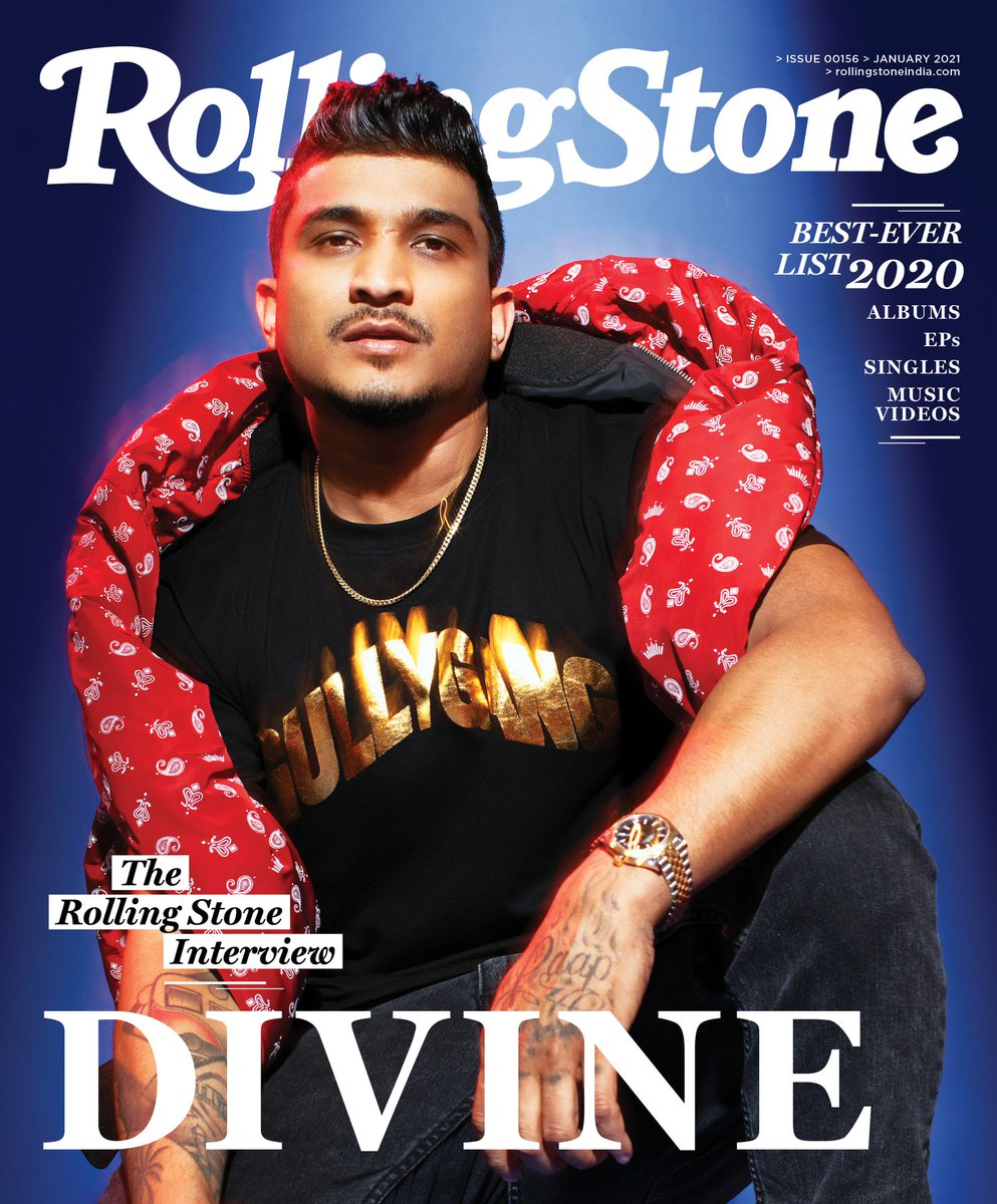 India's grittiest rapper @VivianDivine makes it to our cover for the third time! In this first issue of 2021, the hip-hop icon discusses his journey from being an artist to an entrepreneur in the #TheRollingStoneInterview