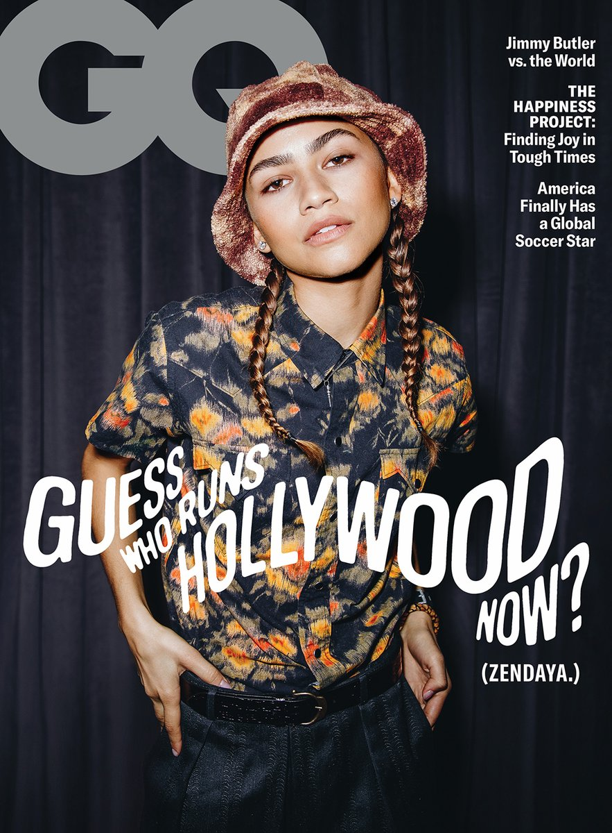 Presenting GQ's February cover star: @Zendaya. See all the photos by Tyrell Hampton and read the story by @hunteryharris. Styled by @luxurylaw gq.mn/TpwOacY