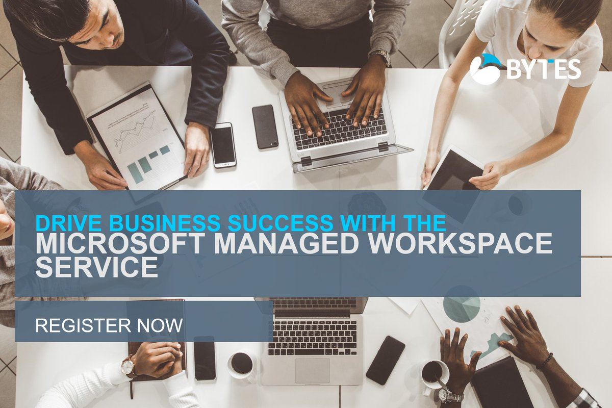 Join our webinar tomorrow as we explore the key benefits of the new Microsoft Managed Workspace – a service designed to help you support your teams, no matter the time or place.  Click here to register: