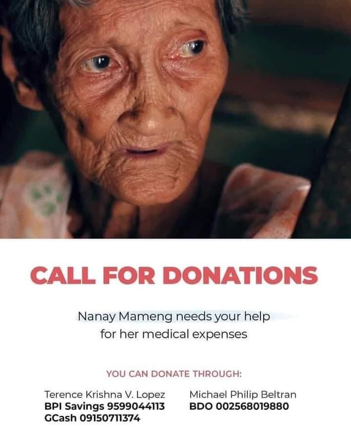 Tulungan po natin si Nanay Mameng! twitter.com/KadamayNtnl/st…
