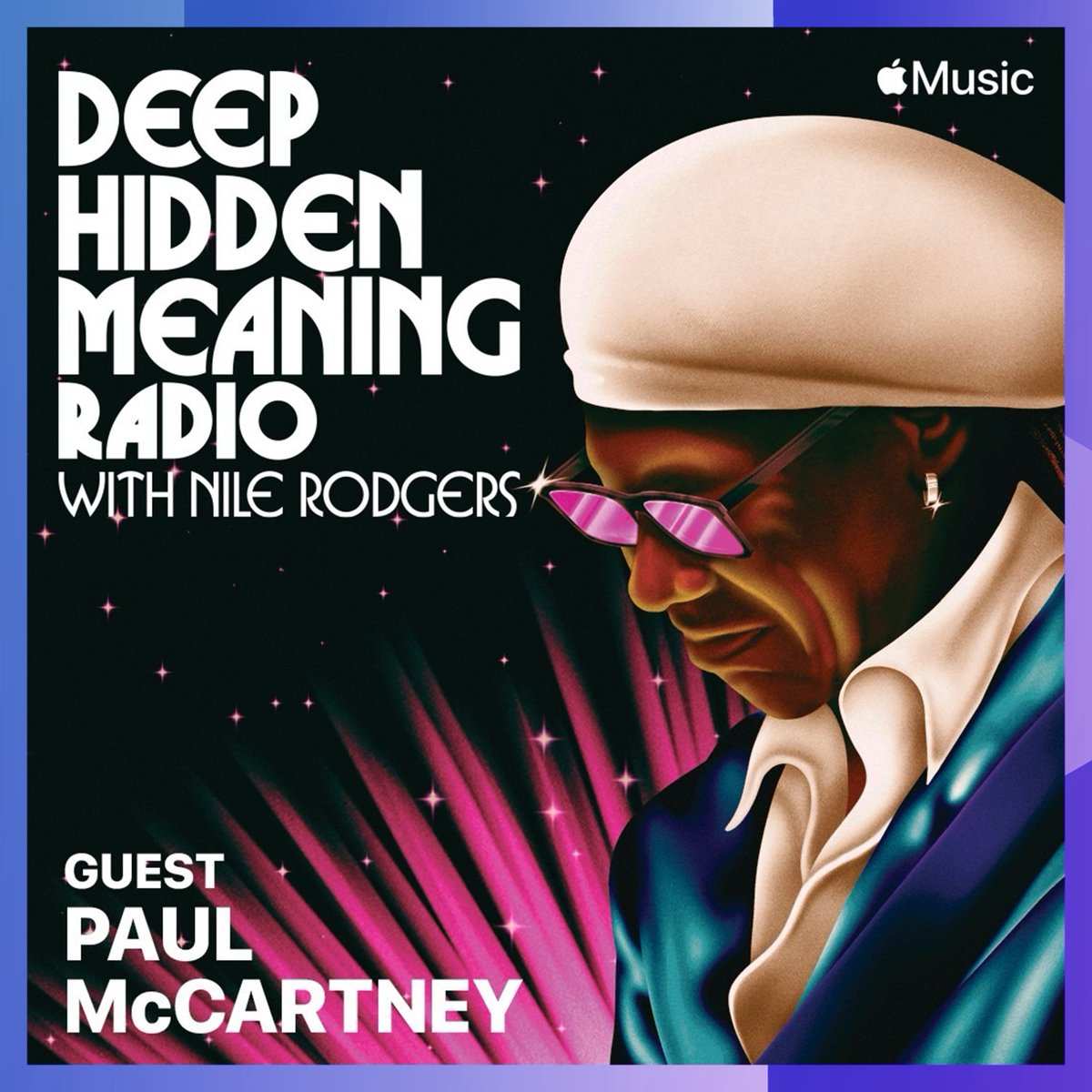Sir @PaulMcCartney is the latest guest on our Chief Creative Advisor @NileRodgers' @AppleMusic 1's #DeepHiddenMeaning Radio, joining Nile for a fascinating masterclass discussion on songwriting. Listen back here: