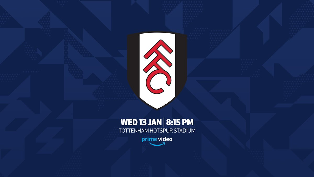 Our previously postponed home fixture against Fulham, originally scheduled for 30 December 2020, will now take place on Wednesday 13 January, kick-off 8.15pm.  #THFC ⚪️ #COYS