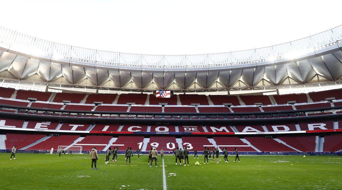 👋 @Atleti   🔴⚪ #AúpaAtleti | ⚽ #AtletiSevillaFC