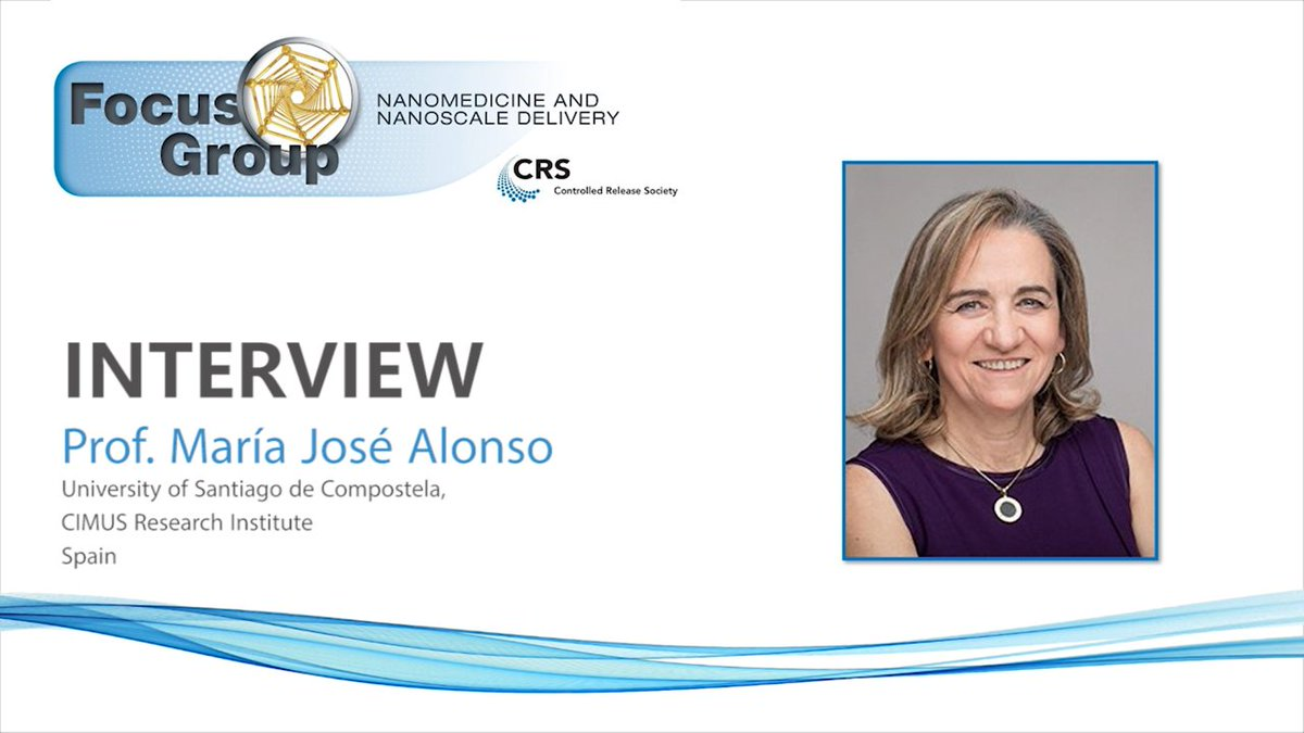 More news from @MariaJ_Alonso! 📺 Watch this exciting interview to find out about her views on #WomenInScience, the complex relationship between industry and academia and more. Link below 👇
