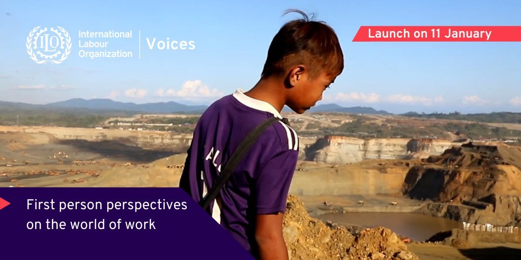 📢'Voices' launches today!  We are delighted to share with you the ILO's new innovative multimedia platform bringing to life stories and important issues in #worldofwork.   Other features include a #futureofwork podcast with expert analysis.  Check it out: