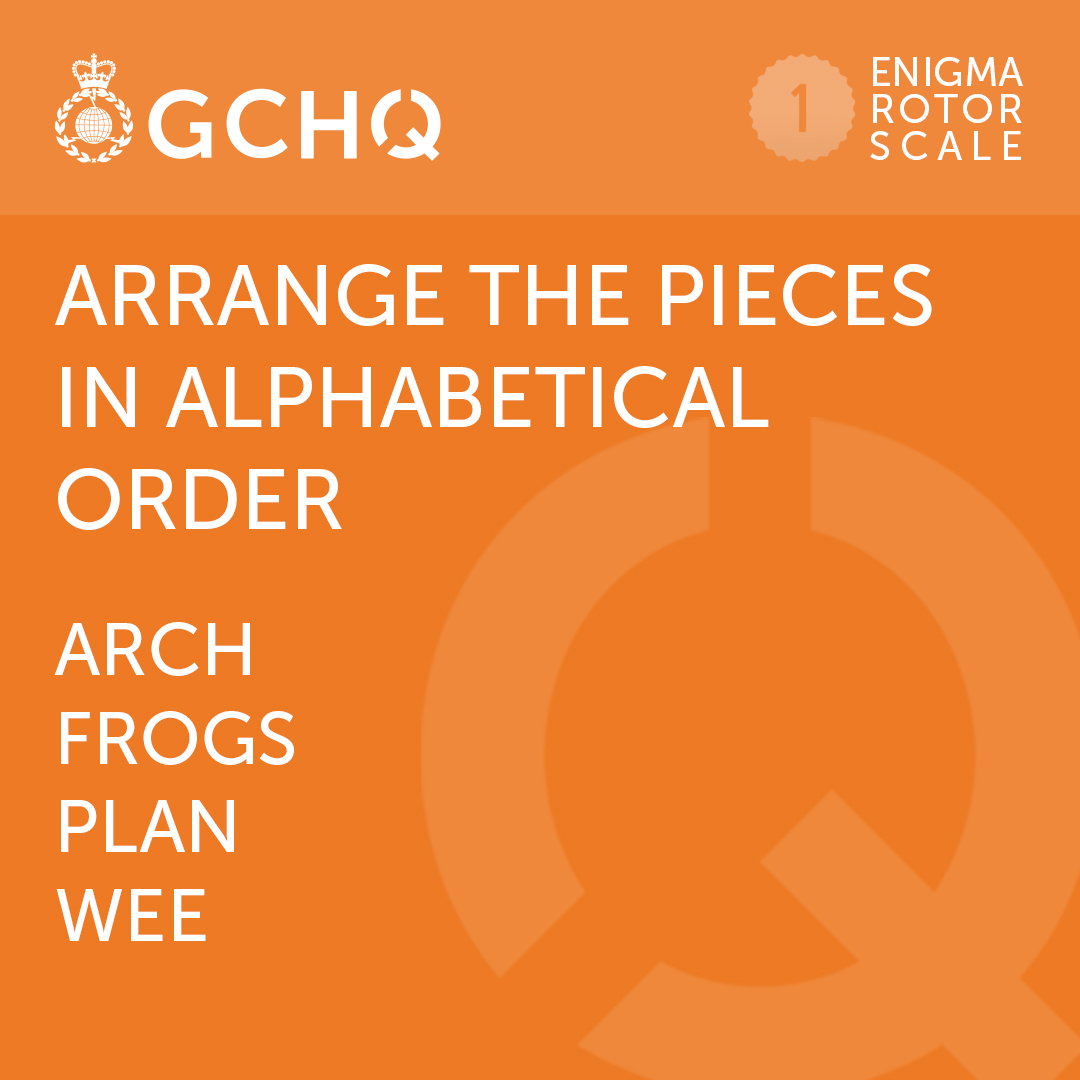 Put a spring in your step with a new #GCHQPuzzle 🧩  #MondayMotivation https://t.co/kMwBG3c7d2