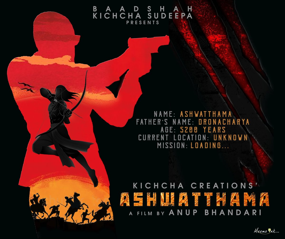 It's raining Ashwatthamas... #TheImmortalAshwatthama