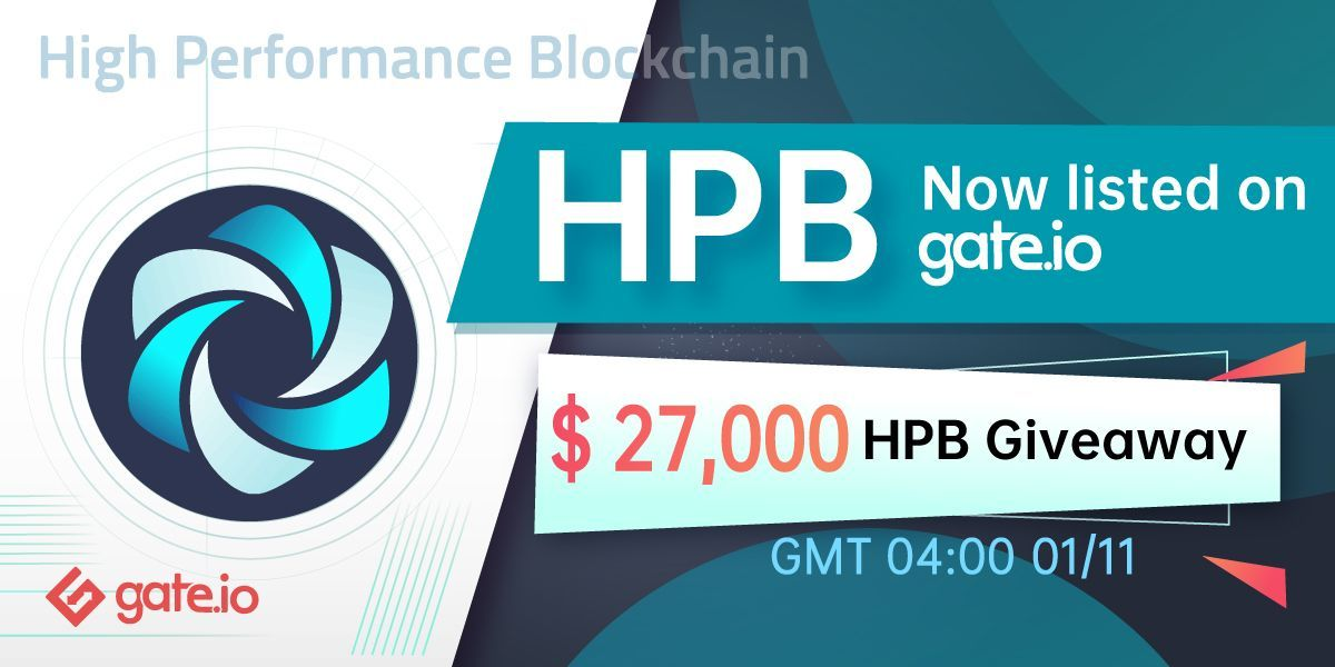 We are glad to announce that HPB is now listed on @gate_io! 🥳🎉🚀 ✅The HPB/USDT trading pair is available.