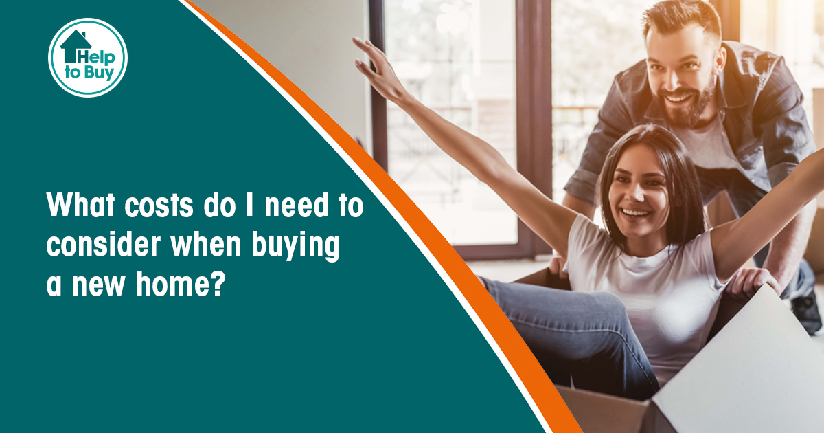 To use Help to Buy: Equity Loan, you must have a 5% deposit. You must also be able to cover other costs associated with buying a home, such as a reservation fee, solicitors and mortgage fees, removal services and furnishings. Find out more: bit.ly/3gnkpfl...