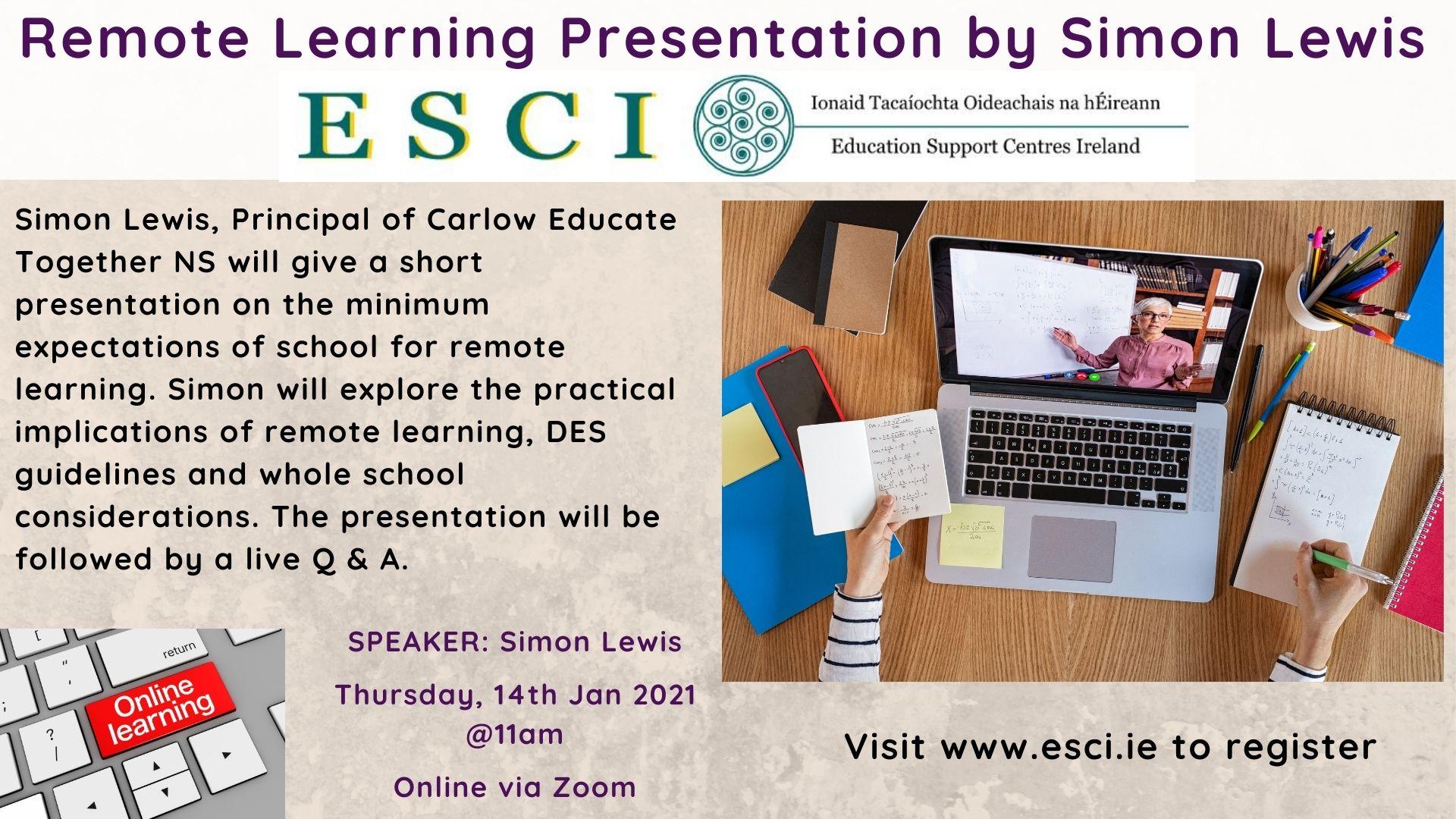 Simon Lewis Presentation