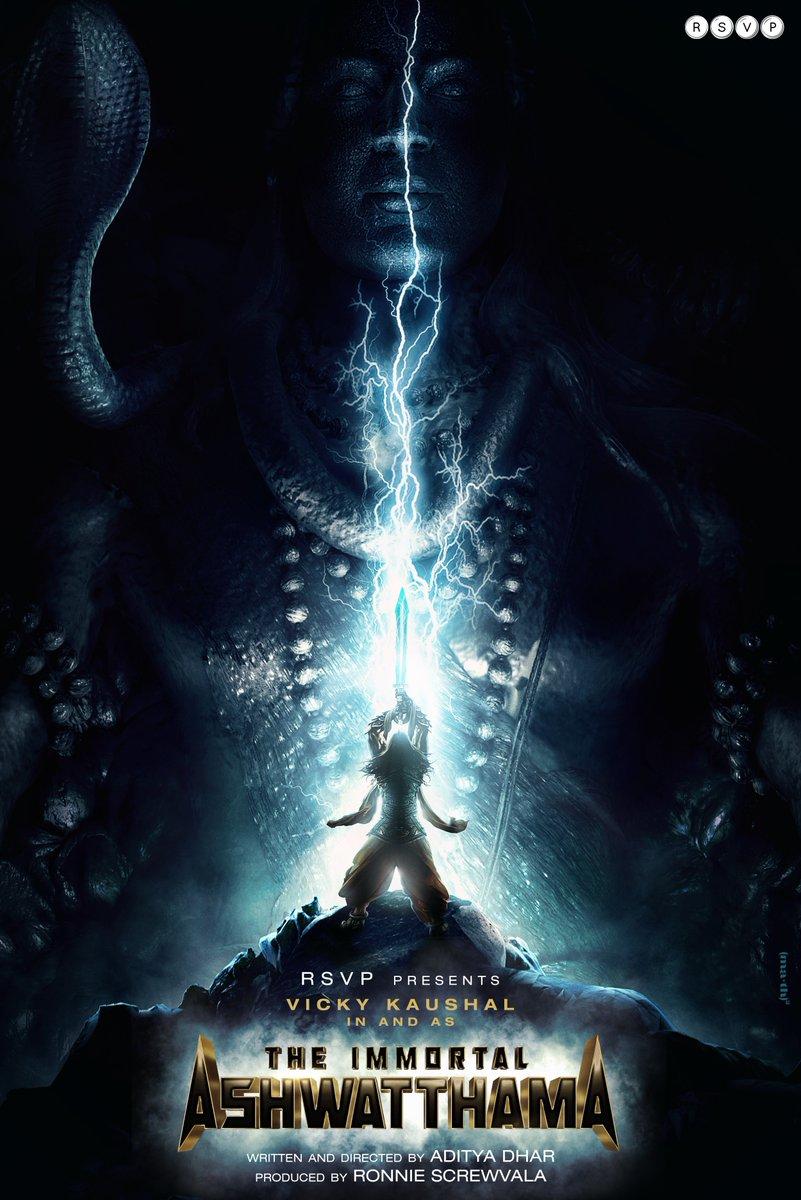 "⚡️ ""Ronnie Screwvala, Vicky Kaushal Reteam For Sci-Fi Epic 'Ashwatthama'"""