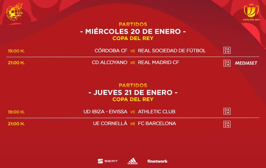 كورنيا-برشلونة ، من كأس الملك ، في 21 يناير 2