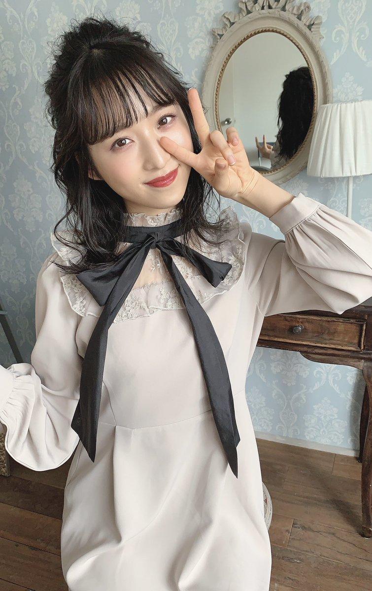 AKB48】小栗有以、evelynのモデルを務める!オフショットが公開 ...