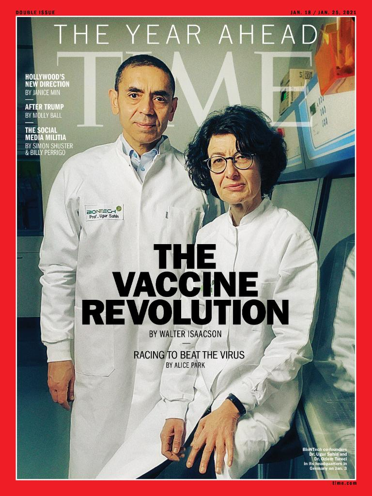 TIME's new global cover: Inside the vaccine revolution
