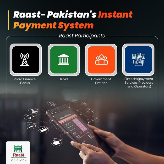 #RaastbySBP is a game-changer for financial inclusion & digital transformation in 🇵🇰 - delighted to be at today's launch of instant payment system led by @rezabaqir @StateBank_Pak @PakPMO @KarandaazPK @gatesfoundation