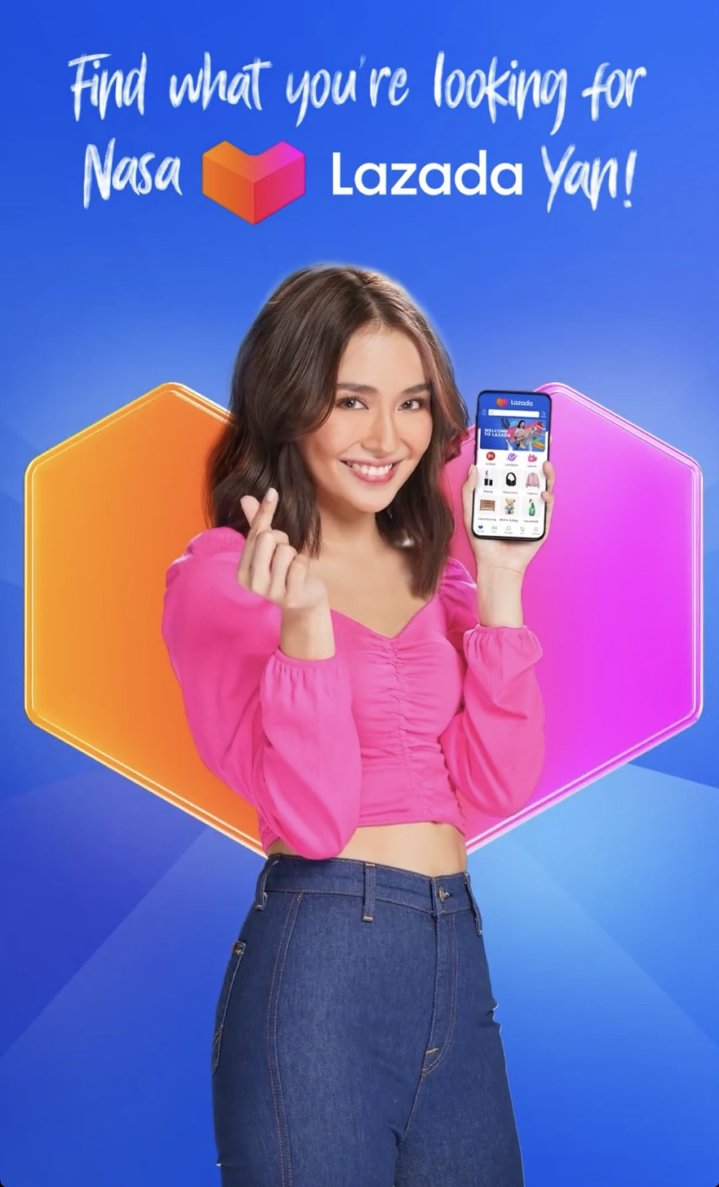 ✨ If you saw this tweet you are obligated to reply the official tagline  and mention @LazadaPH and @bernardokath on your tweets! ✨  KATHRYN NasaLazadaYan