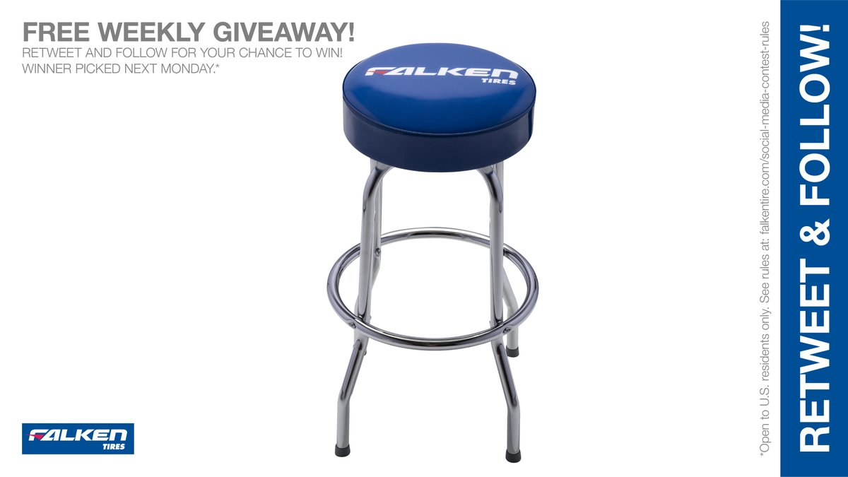 Falken #barstool weekly #giveaway #contest. RT & follow #FalkenTire to enter to #win this #prize or other #swag! Day1 Rules: