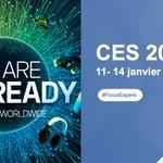 Image for the Tweet beginning: Le #CES2021 débute aujourd'hui, pour