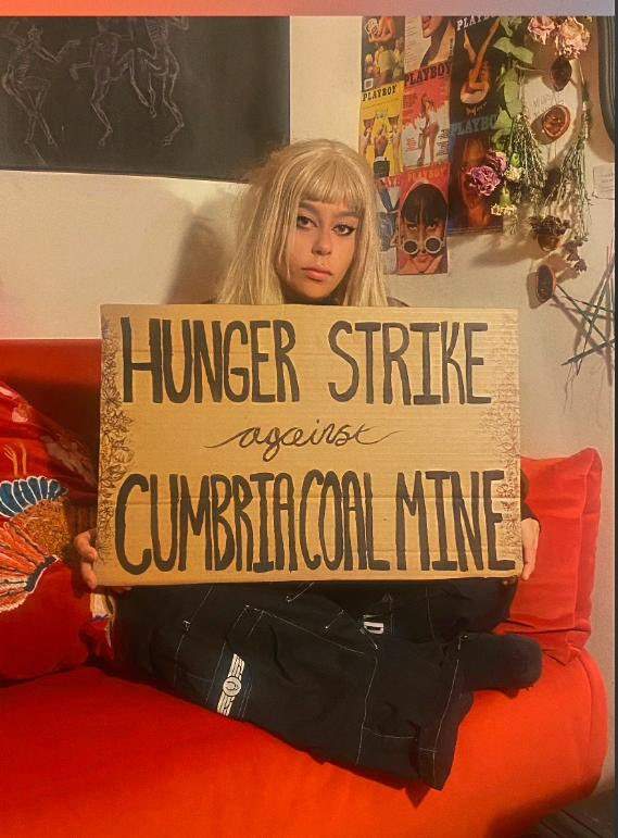 Today I'm starting a Hunger-Strike again against West Cumbria Coal Mine with 17 year old Elijah Mckenzie-Jackson.  We demand the Secretary of State,  @RobertJenrick & @UKParliament to make a U-Turn on his ruling not to call the west Cumbria coal mine to be debated in Parliament.