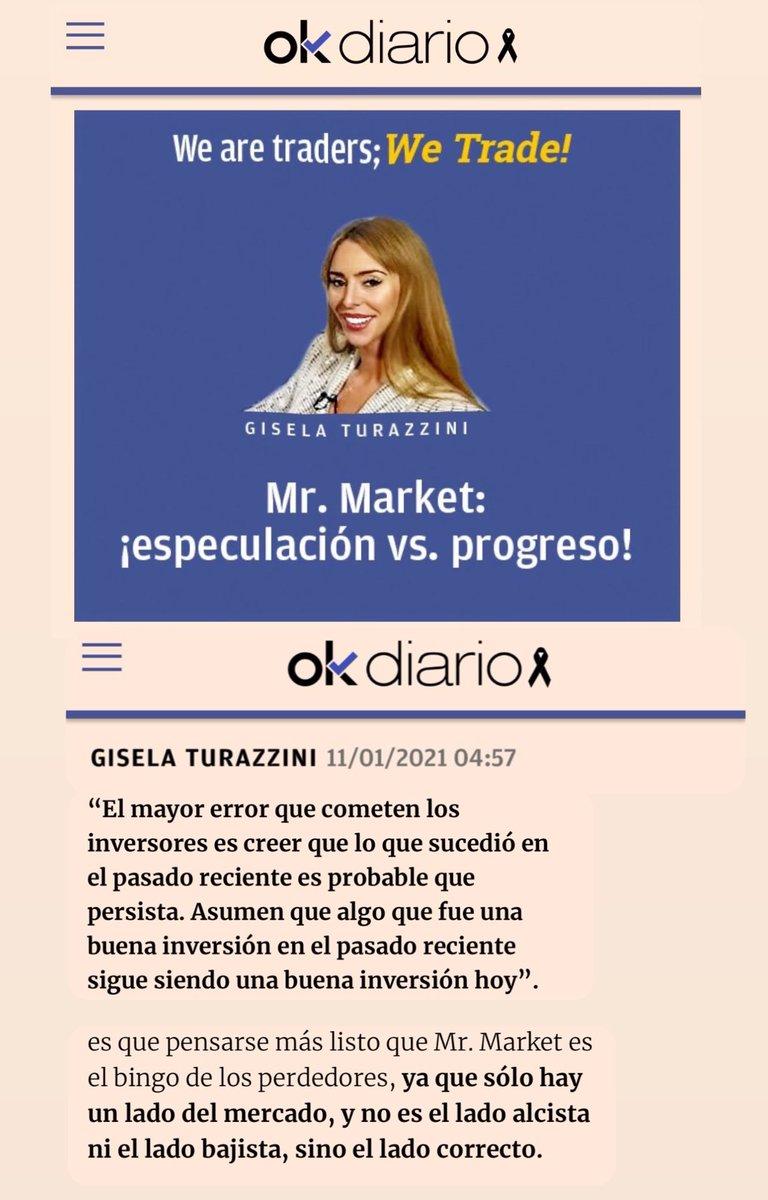 Mi Tribuna de #Opinión en @okdiario, TODOS los LUNES y MARTES en PORTADA. Hoy, Mr.#MARKET: ¡#ESPECULACIÓN vs. #PROGRESO!